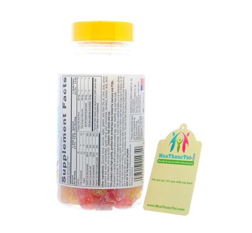 Thành phần của L'il Critters Omega-3 plus DHA Gummy Fish