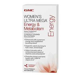 GNC Women's Ultra Mega Energy and Metabolism