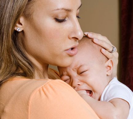 Trẻ em thiếu canxi hay khóc đêm
