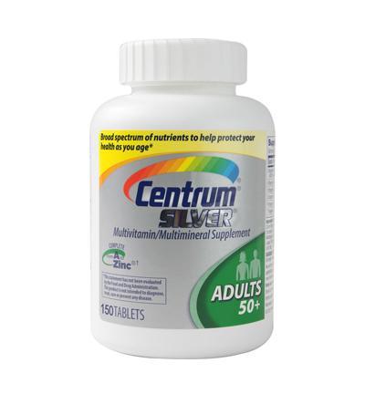 Nguồn cung cấp vitamin tuyệt vời chuyên biệt cho người trên 50 tuổi