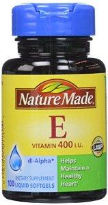 Nature Made Vitamin E 400 IU bổ sung 400 IU Vitamin E cho cơ thể