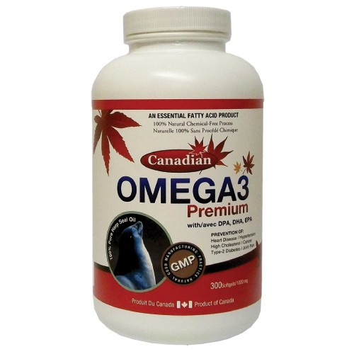 Canadian Omega-3 Premium 300 viên, Cung cấp Omega-3 từ dầu Hải Cẩu