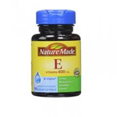 Nature Made bổ sung Vitamin E 400 IU 300 viên 250 gram: Viên uống bổ sung Vitamin E hiệu quả