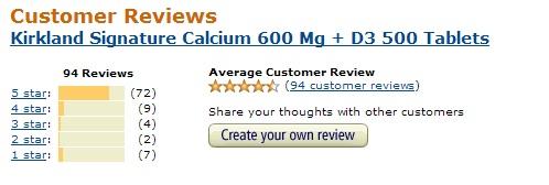 Kirland Signature Calcium with Vitamin D3