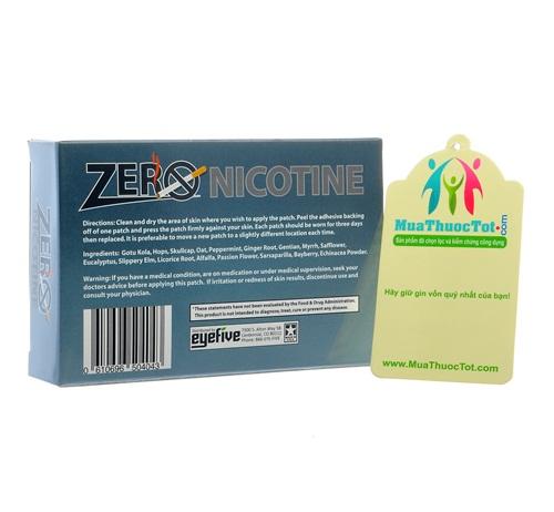 Với Zero Nicotine: cai thuốc lá chỉ còn lá chuyện nhỏ