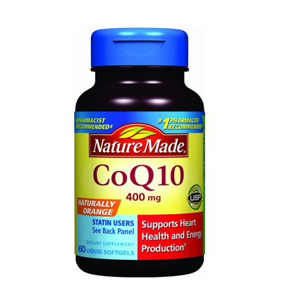 Nature Made CoQ10 400 mg cung cấp nhiều dưỡng chất Coenzyme