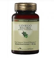 GNC Herbal Ginkgo Biloba 120 mg 100 viên- Viên uống Bổ Não và Tăng Cường Trí Nhớ