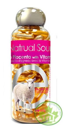 Lamb Placenta with Vitamin E làm mờ đốm nâu, tàng nhanh trắng da hiệu quả