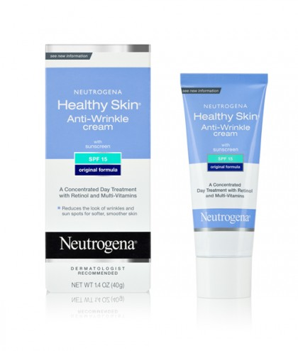 Neutrogena Healthy Skin  Anti-Wrinkle Cream SPF15 điều trị và ngăn ngừa nếp nhăn hiệu quả