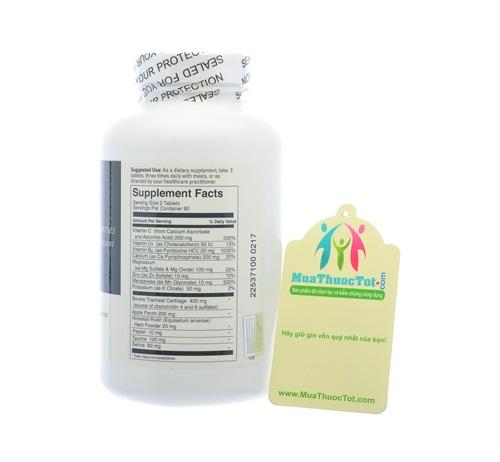 thành phần Uricinex Normal Uric Acid
