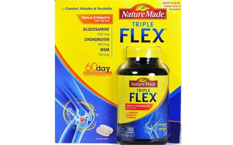 Natrure Made TripleFlex hỗ trợ điều trị các bệnh xương khớp hiệu quả
