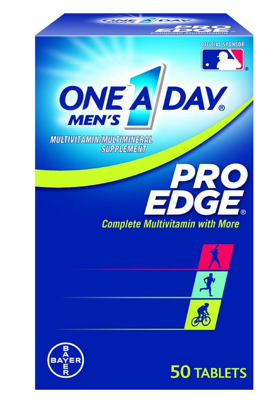 One-A-Day Men's Pro Edge Multivitamin cung cấp đầy đủ vitaim cho nam giới