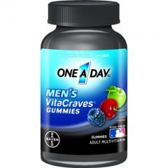 One A Day Men's VitaCraves Gummies - Viên bổ sung vitamin và khoáng chất, 50 viên