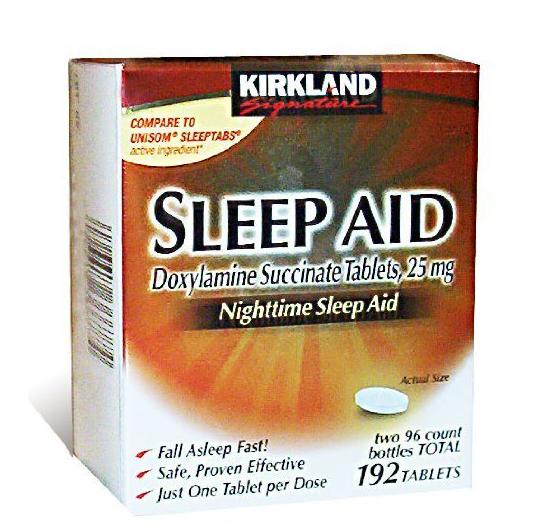 Kirkland Signature Sleep Aid Doxylamine succinate là thuốc đặc trị hiệu quả các triệu chứng do dị ứng hay bệnh viêm xoang hen suyễn