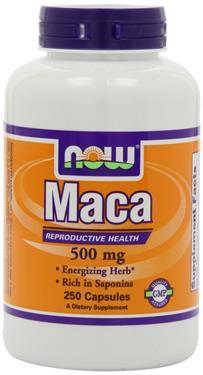 Now Foods Maca – thuoc chăm sóc sức khỏe sinh sản, tăng cường sinh lực cho cả nam lẫn nữ
