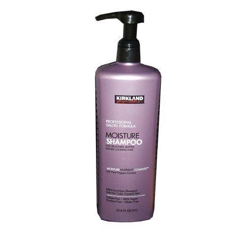 Kirkland Moisture shampoo 1000ml, Dầu gội chăm sóc mái tóc mềm mại, chắc khỏe cho cả Nam và Nữ