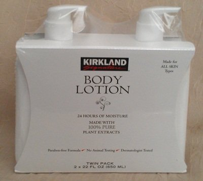 Kirkland Body Lotion Made with 100% Pure Plant Extracts- Kem dưỡng da toàn thân