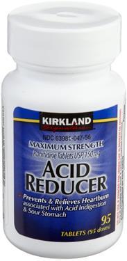 Kirkland Signature Acid reducer hỗ trợ tiêu hóa, điều trị chứng ợ nóng khó tiêu