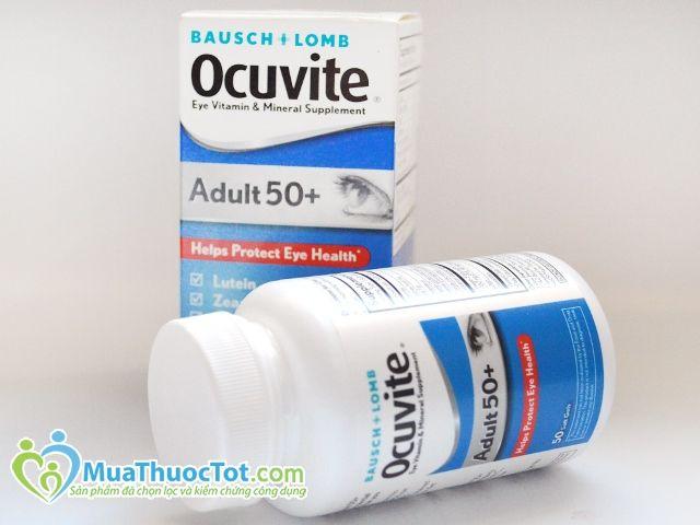Bausch & Lomb Ocuvite Adult 50+ cho ông bà đôi mắt sáng và tinh anh!