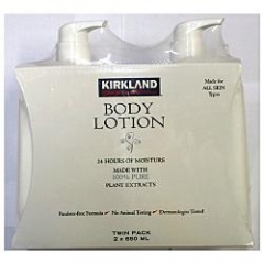 Kirkland Body Lotion Made with 100% Pure Plant Extracts- Bộ Kem dưỡng da toàn thân, 650 ml