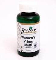 Swanson Women's Prime Multi- Viên uống cung cấp nguồn dinh dưỡng cho phụ nữ tiền mãn kinh, 90 viên