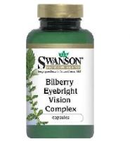 Swanson Bilberry Eyebright Vision Complex - Thuoc hổ trợ bệnh mắt, thị lực, 100 viên