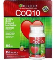 Trunature® CoQ10 Thuốc bổ Tim Mạch hiệu quả, 100mg, 150 viên