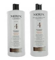 Nioxin System 4 Cleanser & Scalp Therapy for Fine Treated Hair Duo 150ml- sản phẩm chăm sóc tóc