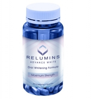 Relumins Advance White- Thuốc uống trắng da từ nhau thai ngựa, 60 viên
