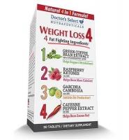 Doctor's Select Weight Loss 4 Dietary Supplement – thuốc hỗ trợ giảm cân hiệu quả, 90 viên