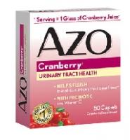 Azo Cranberry – thuốc hỗ trợ điều trị bệnh bàng quang và tiết niệu, 50 viên
