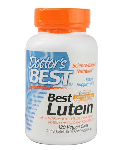 Best Lutein 20mg Doctors Best cung cấp Lutein, Zeaxanthin, Cryptoxanthin cho đôi mắt, giúp mắt sáng khỏe