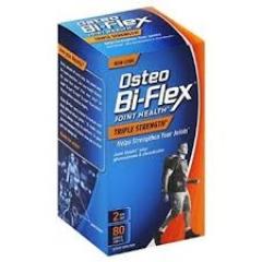 Osteo Bi-Flex Dietary Supplement Glucosamine Chondroitin Msm: viên hỗ trợ điều trị bệnh liên quan đến xương khớp, 40 viên