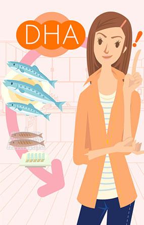 DHA là một trong những axit béo thuộc nhóm axit omega- 3