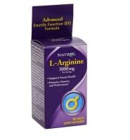 Natrol L-Arginine 3000 mg: Sản phẩm giúp hỗ trợ giãn mạch máu và tăng ham muốn tình dục, 90 viên