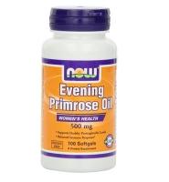 Now Foods Evening Primrose Oil – Viên uống chăm sóc sức khỏe cho phụ nữ tiền mãn kinh, 500mg, 100 viên