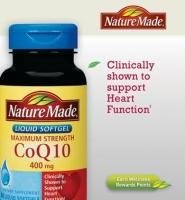 Nature made CoQ10 400mg - Thuốc chống oxy hóa, giúp tim khỏe mạnh, 60 viên