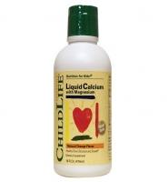 Childlife Liquid Calcium and Magnesium Orange, 474ml: bổ sung canxi và magie cho bé chiều cao vượt trội.