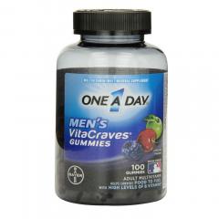 One a Day Men's Vitacraves Gummies- Kẹo bổ sung vitamin và khoáng chất cho nam giới, 100 viên