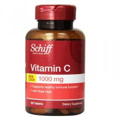 Schiff Vitamin C – viên uống bổ sung vitamin C cho cơ thể,500mg, 100 viên