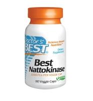 Doctors Best Best Nattokinase – Thuốc Bổ Tim Mạch Và Ngăn Ngừa Đột Qụy, 30 viên