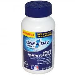 One A Day Men's Multivitamin Health Formula - Viên Bổ Sung Vitamin Và Khoáng Chất Thiết Yếu Cho Nam Giới, 200 viên