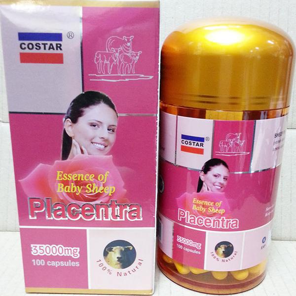 Sheep Placenta Costar 35000 mg giúp tăng cường hệ miễn dịch và chống lại oxy hóa