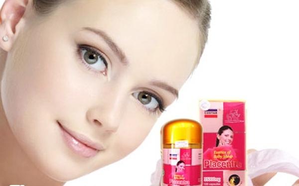 Sheep Placenta Costar 350 mg  bổ sung vitamin E giúp bảo vệ da
