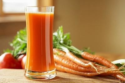Món nước ép cà rốt có tác dụng bổ dưỡng, phòng ngừa nhiễm trùng