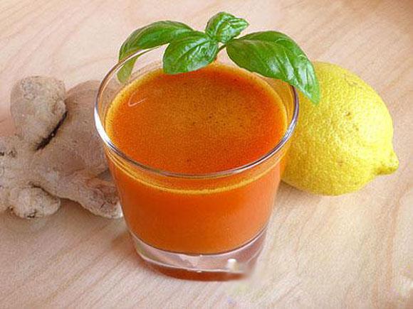Nước chanh cà rốt chống nóng, cải thiện thị lực hiệu quả