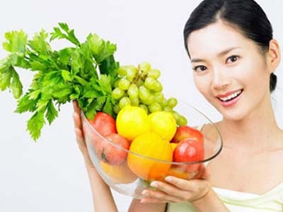 Bạn cần bổ sung thật nhiều rau quả, giảm lượng muối và mỡ