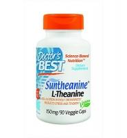 Doctor's Best Suntheanine L-Theanine: Viên uống giảm stress, mệt mỏi và cải thiện tinh thần, 90 viên