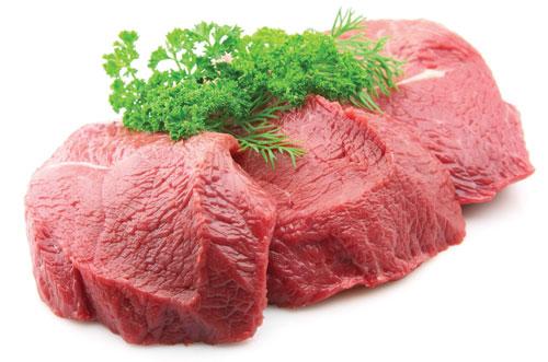 Thịt bò bổ sung thêm nhiều đạm và vitamin B12