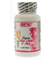 Deva Vegan Hair Nails and Skin – Viên uống chăm sóc da tóc và móng 90 viên